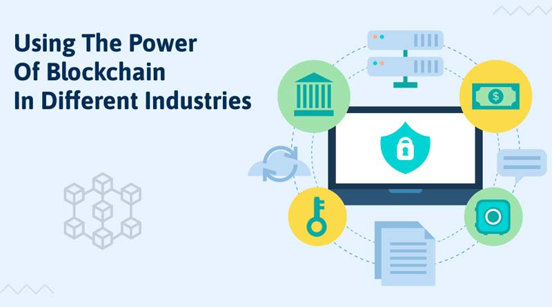 Using the Power of Blockchain in Different Industries